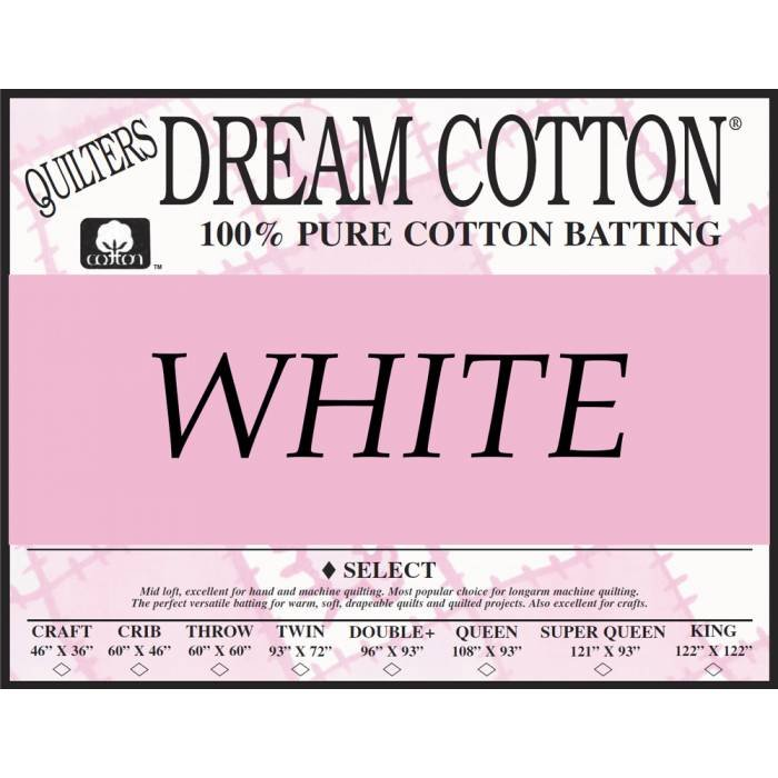Quilters Dream Select Craft White 46x36