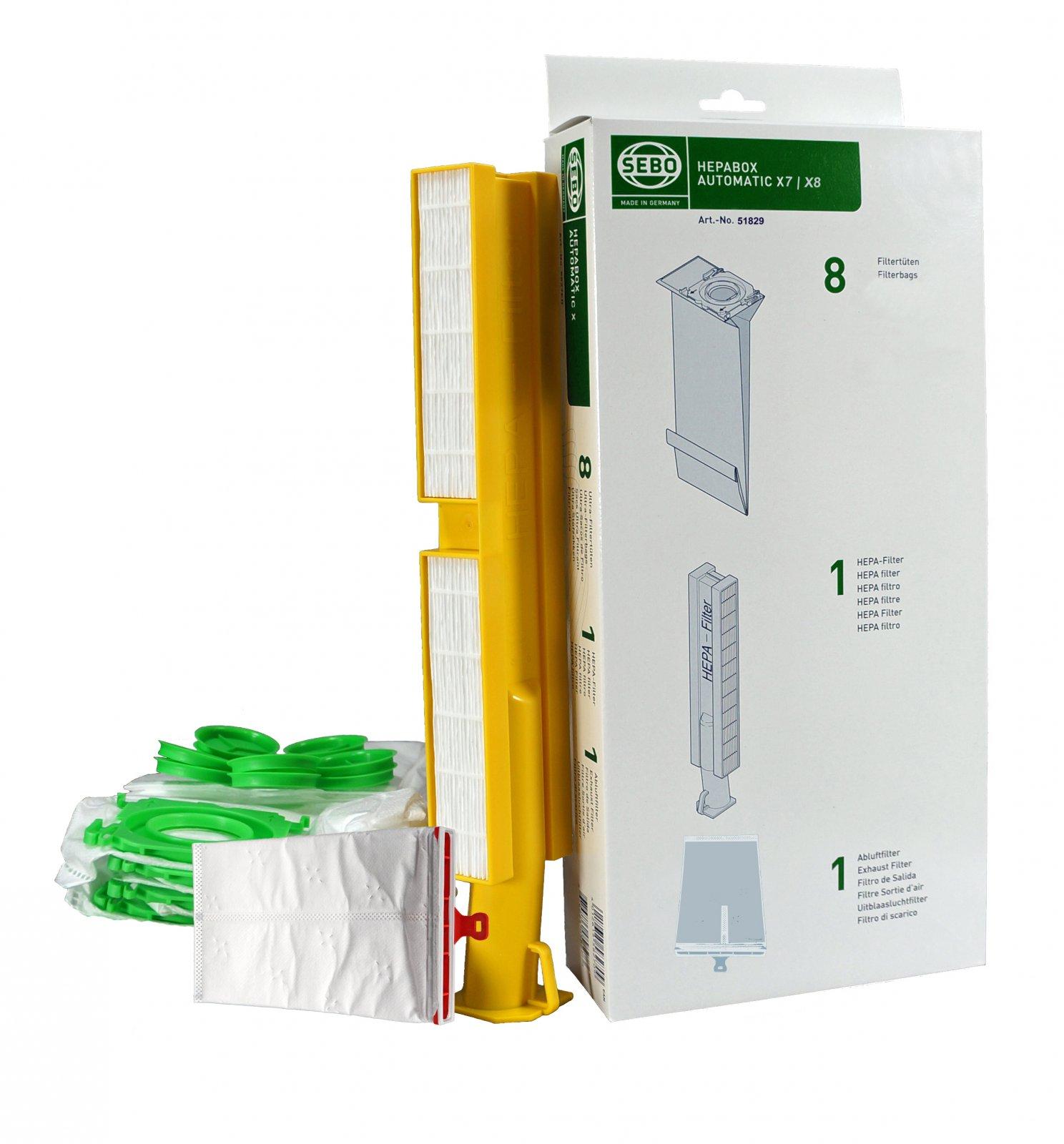 Sebo X7/X8 HEPA Service Box