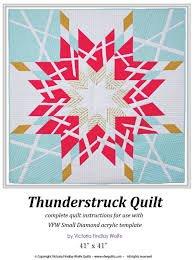 Thunderstruck Diamond Pattern & Template - VFW