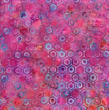 Island Batik - Honeycomb-Cotton Candy - All a Flutter - 111810849