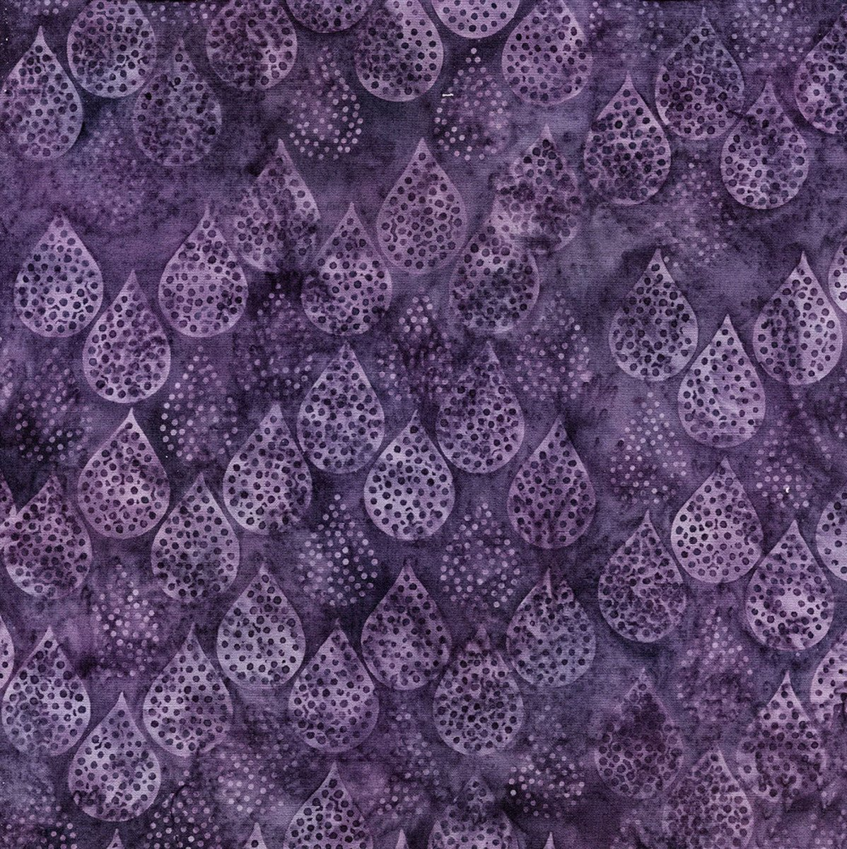 Island Batik - Rain Dots - Grape - 111817450