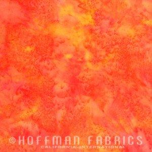 1895-224 Hoffman Batik Blender - Poppy