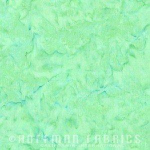 1895-234 Peridot | 1895 Watercolor Batik Blender | Hoffman Fabrics