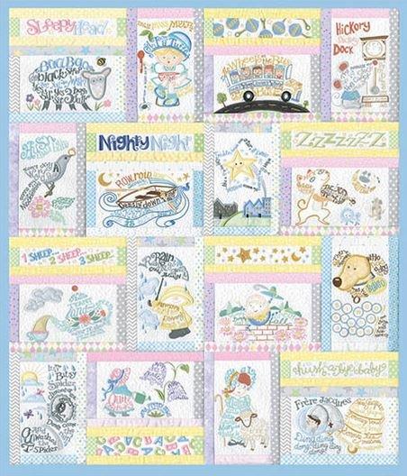 Nursery Rhymes Special Edition Collection            Anita Goodesign