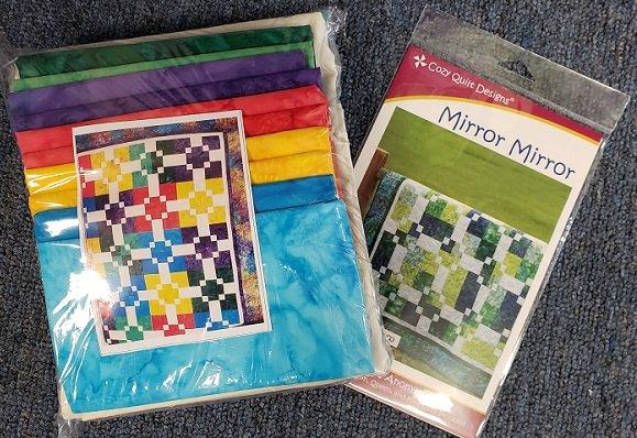 Mirror Mirror Quilt Kit with Pattern