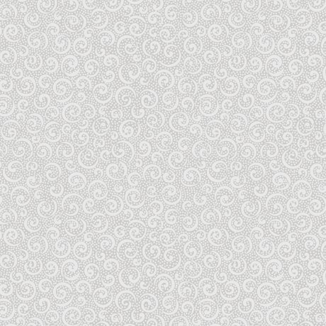 1649-21517-K Gray - Curly Cues - Quilting Illusions by Quilting Treasures