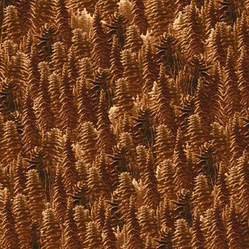 SILENT FLIGHT - Pine Trees Brown - 24597-A