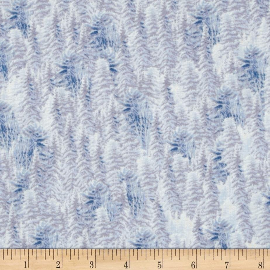 SILENT FLIGHT - Pine Trees White - 24597-Z