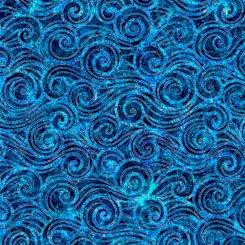 27092-W Ocean Waves | Oceana by Quilting Treasures