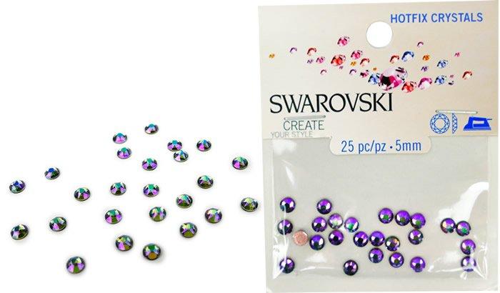 Swarovski Hotfix Crystals - #5036 Crystal Paradise Shine - 5mm