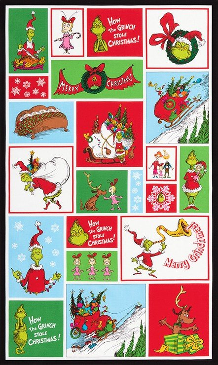 Dr Seuss - How the Grinch Stole Christmas  - ADE-16708-223 HOLIDAY