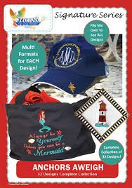 Anchors Away - Floriani Embroidery Signature Series