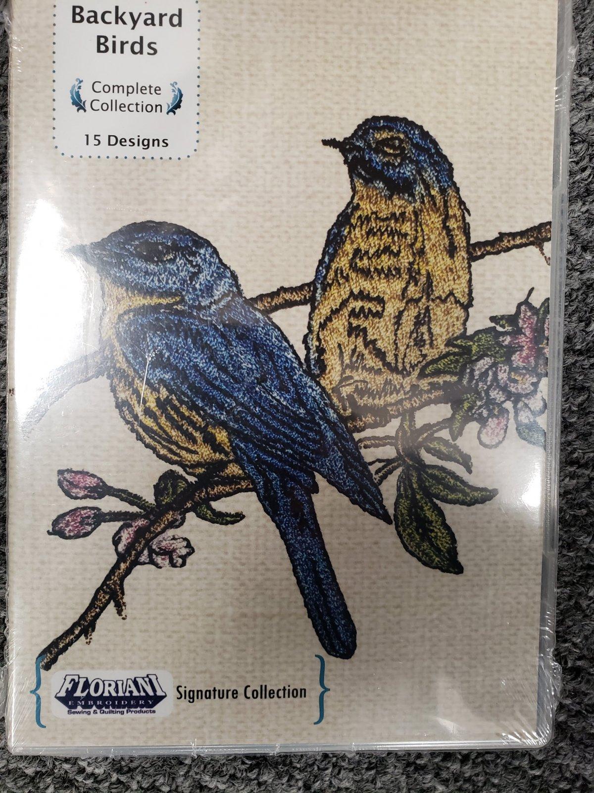 Backyard Birds - Floriani Embroidery Signature Collection