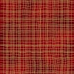 G8565-78G Scarlet/Gold Brilliant Blender by Hoffman Fabrics