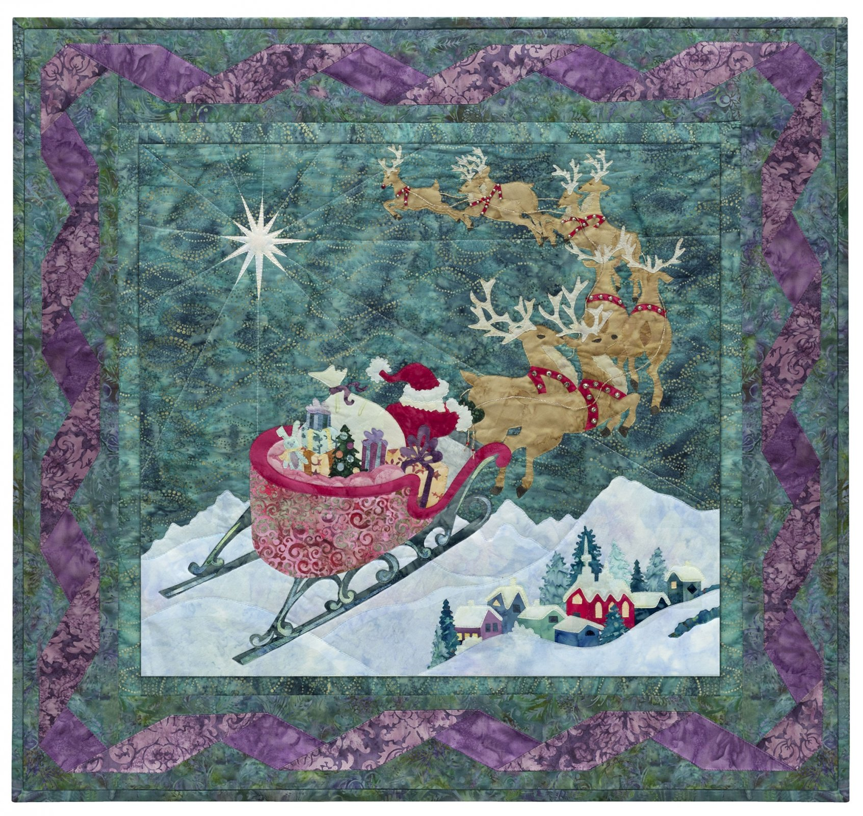 To All a Good Night Fabric Kit w/Pattern by McKenna Ryan