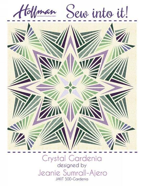 Crystal Gardenia designed by Jeanie Sumrall-Ajero