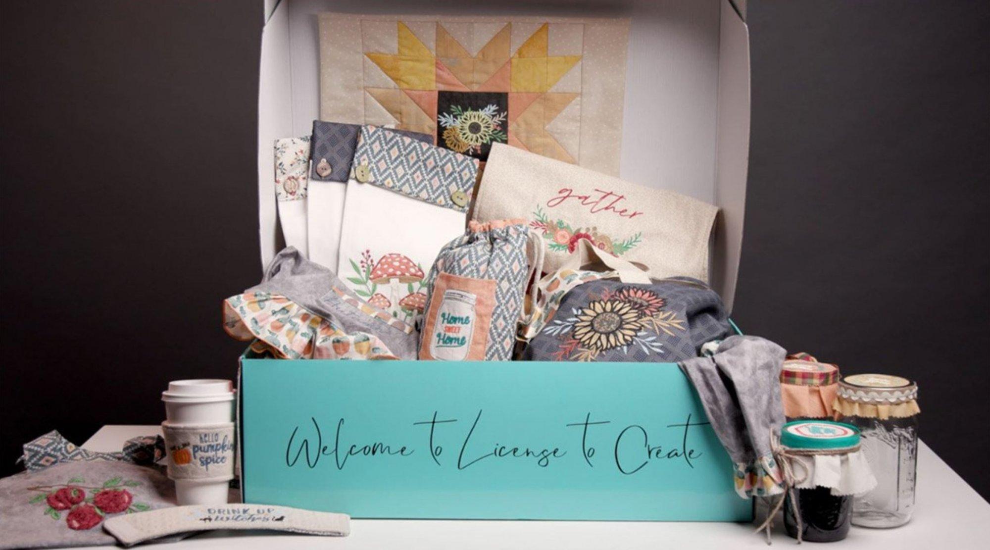 License to Create - Autumn Home Kit