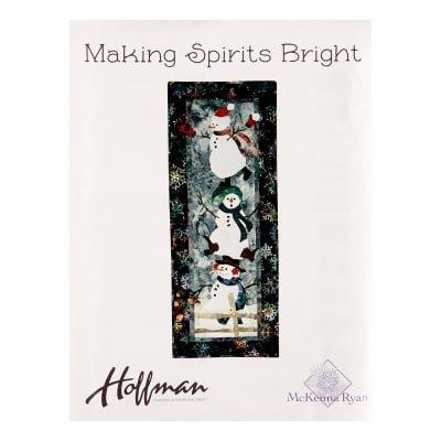 Making Spirits Bright Fabric Kit w/pattern by McKenna Ryan