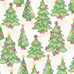 Gingerbread Christmas by Meg Hawkey for Maywood Studio MAS814-T Trees