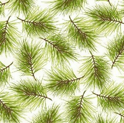 Poinsettia & Pine MAS9124-E Maywood Studios