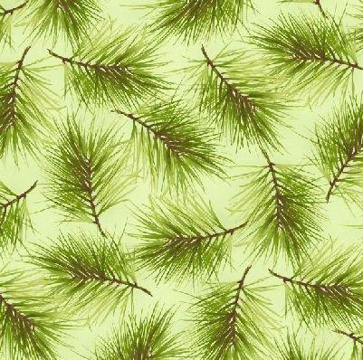 Poinsettia & Pine MAS9124-G Maywood Studios