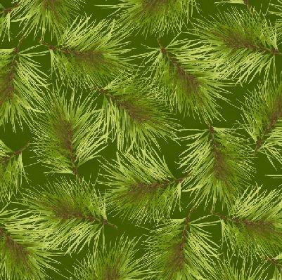 Poinsettia & Pine MAS9124-G2 Maywood Studios
