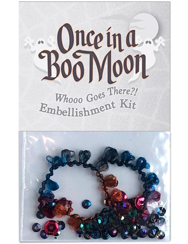 OBM13 Whooo Goes There?! - Embellishment Kit Once in a Boo Moon | McKenna Ryan