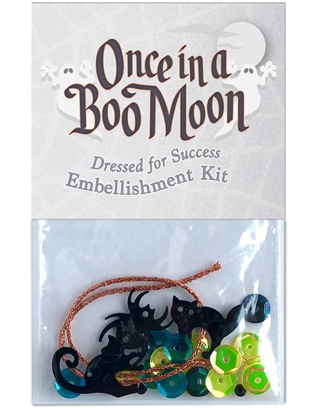 OBM14 Dressed for Success - Embellishment Kit Once in a Boo Moon | McKenna Ryan