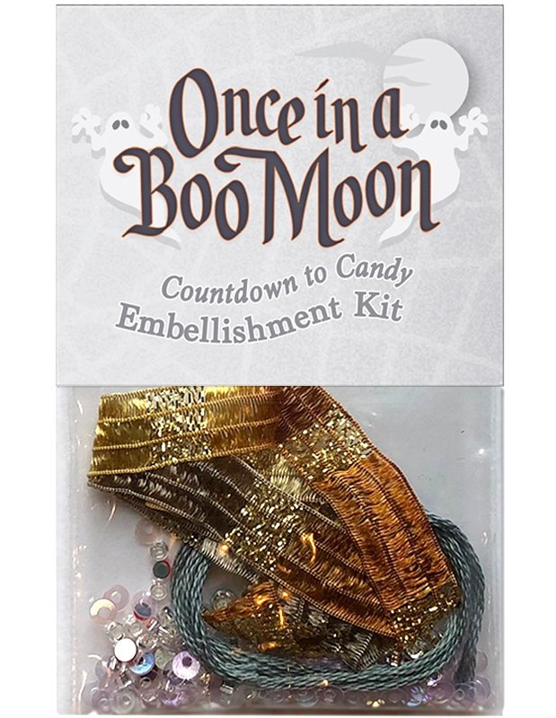 OBM15 Countdown to Candy - Embellishment Kit Once in a Boo Moon | McKenna Ryan