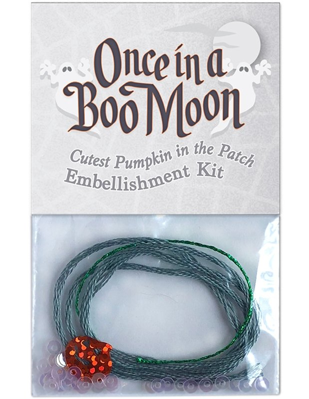 OBM16 Cutest Pumpkin in the Patch - Embellishment Kit Once in a Boo Moon | McKenna Ryan