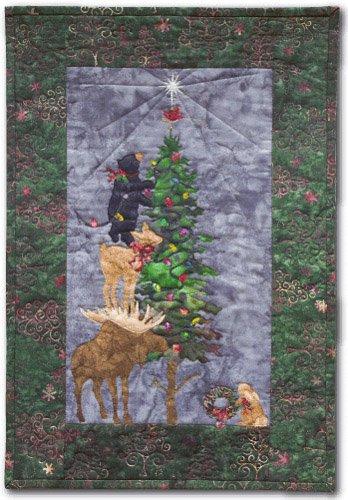 O'Christmoose Tree Fabric Kit w/pattern by McKenna Ryan