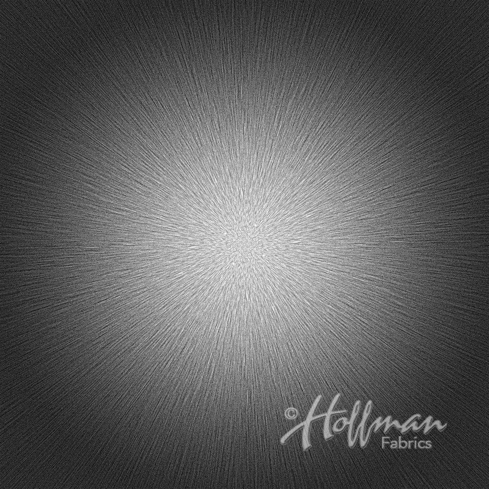 Supernova - Hoffman 40 by 45 Digital Print P4287-213 Onyx