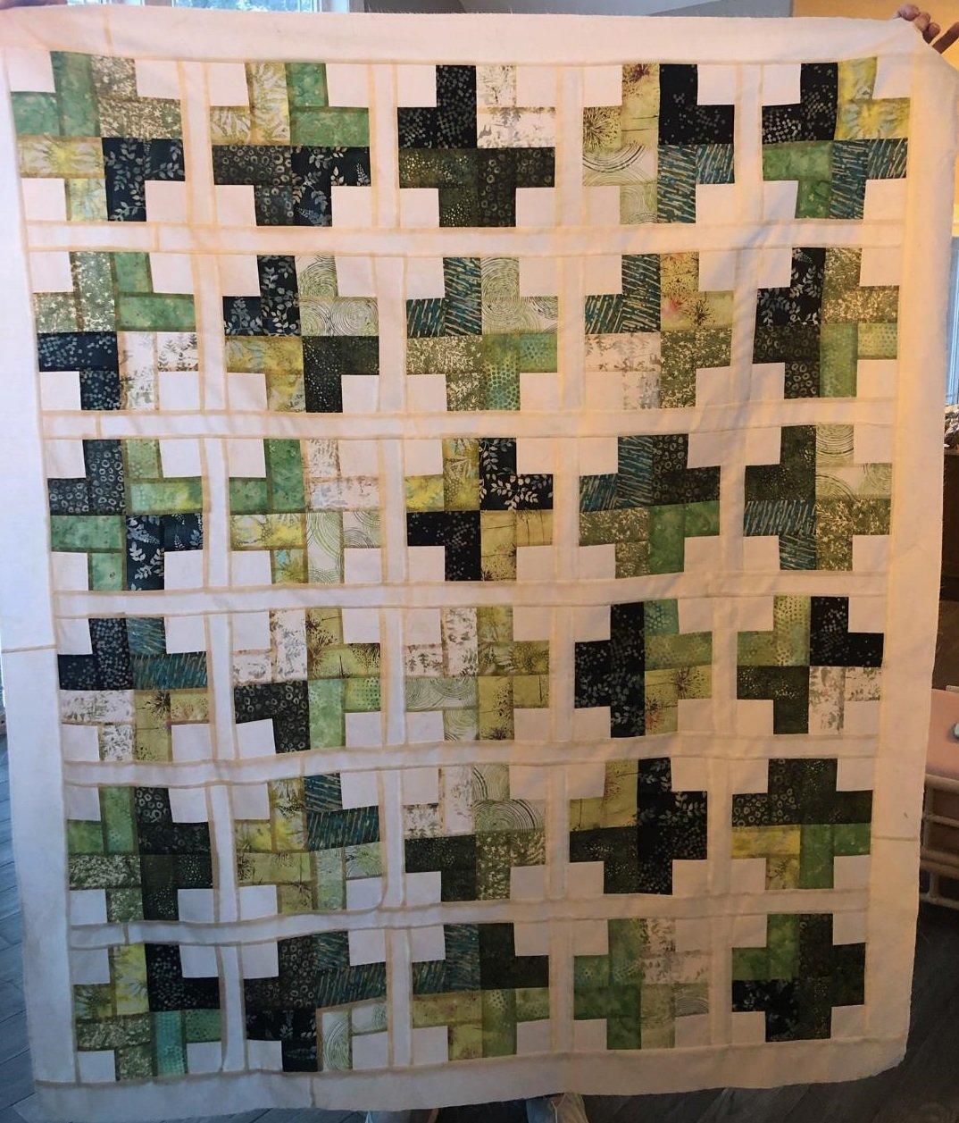Irish Love Wall Kit with Hoffman Batiks