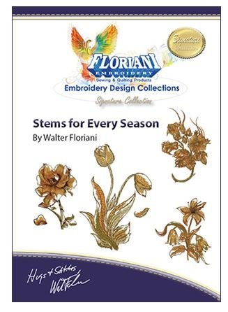 Stems for Every Season - Floriani Embroidery Design Collection