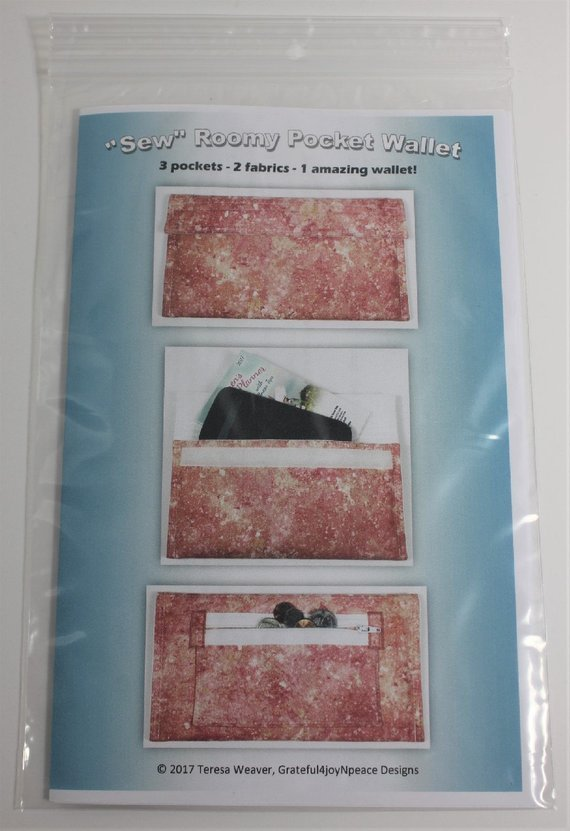 Sew Roomy Pocket Wallet