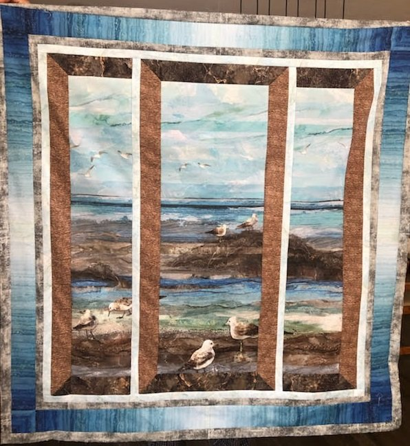 Windswept View Quilt Kit Includes Pattern PTN2601 by Patchworks Studio