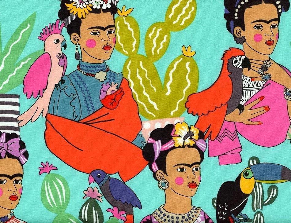 Frida Con Las Plumas 8857 - Acua Tea