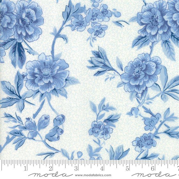 Regency Ballycastle Chintz - Blue Wideback