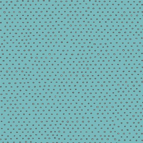 Cést la vie - square dot blender - Dark aqua