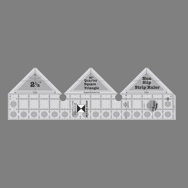 90° Strip Ruler for Quarter Square Triangles - CG RSR90