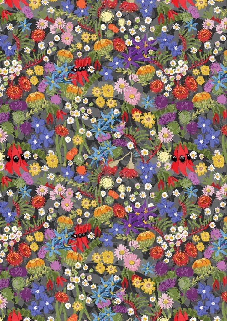 Aussie Flower Garden  8089A