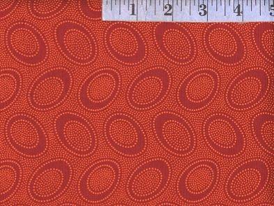 Aboriginal Dot - PWGP071 Pumpkin