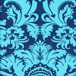 Amy Butler Belle Acanthus in Teal