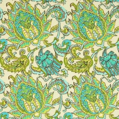 Amy Butler Soul Blossom Paisley in Limestone