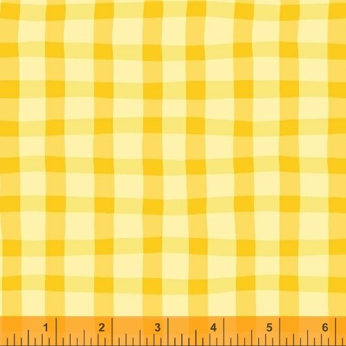 Animal ABC -Plaid Yellow