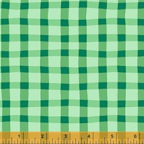 Animnal ABC Plaid Green D413265