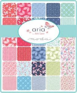 Aria by Kate Spain for Moda - Layer Cake/JellyRoll