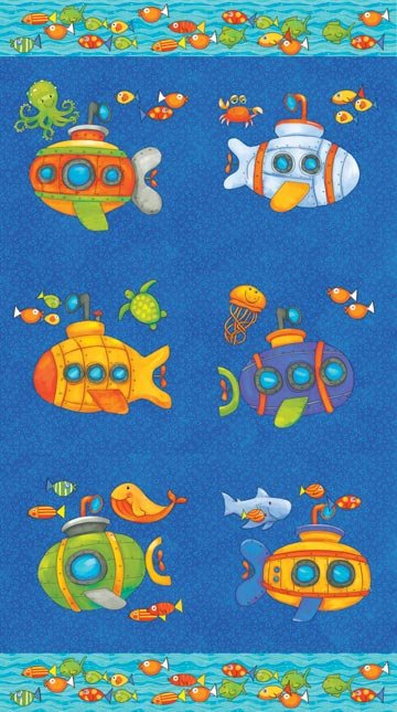 Baby Zoom Submarine 20723-44