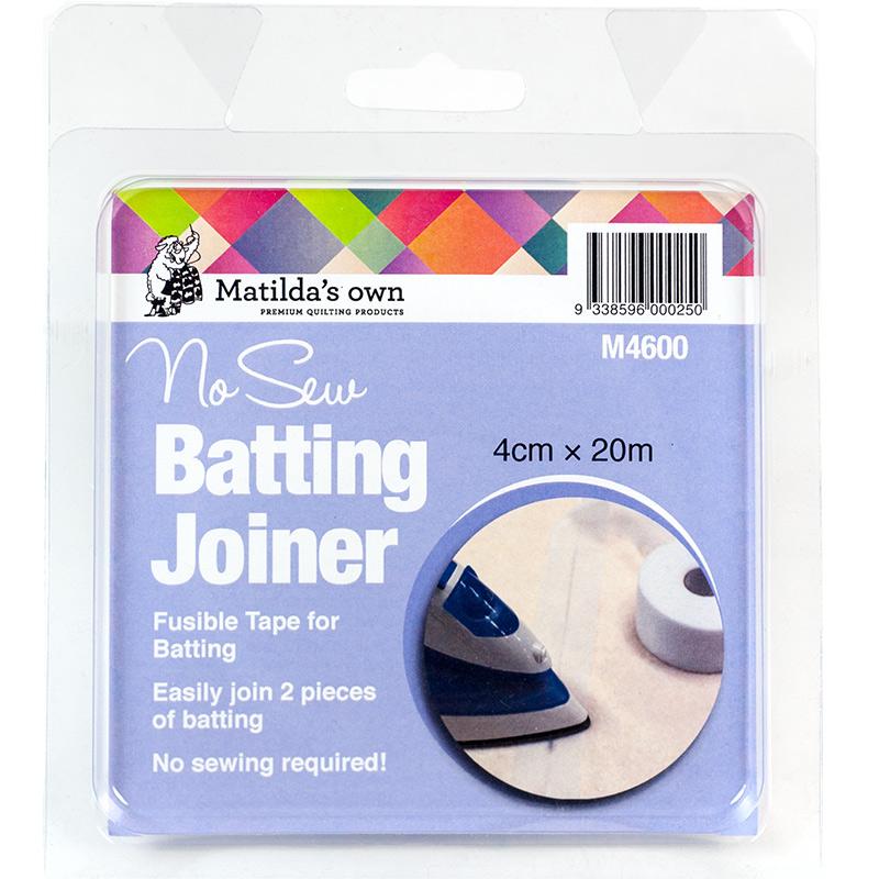 No Sew Batting Joiner - 20 Metres x 4cm wide