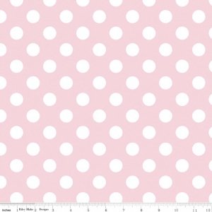 Baby Pink Dots Medium - Riley Blake Designs C360-75